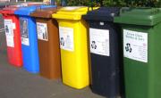 Grafika - Kosze na śmieci