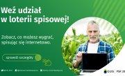 Spis rolny loteria - plakat